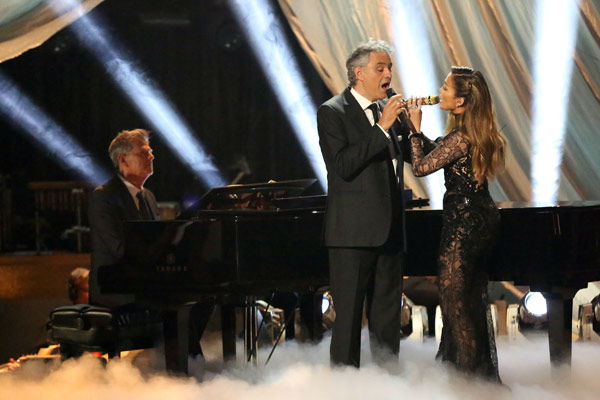 "<div class=""meta image-caption""><div class=""origin-logo origin-image ""><span></span></div><span class=""caption-text"">Andrea Bocelli and Jennifer Lopez performed 'Quizas, Quizas, Quizas' on 'Dancing With The Stars: The Results Show' on April 9, 2013.  The song is featured on Bocelli's new album 'Passion.' (ABC Photo/ Adam Taylor)</span></div>"
