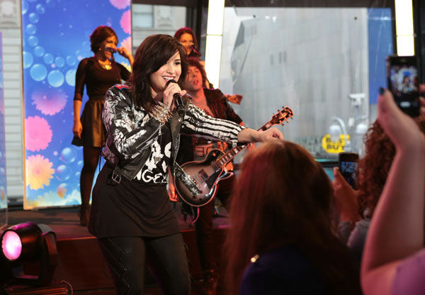 "<div class=""meta image-caption""><div class=""origin-logo origin-image ""><span></span></div><span class=""caption-text"">Demi Lovato performs on 'Good Morning America,' on April 10, 2013. (ABC Photo/ Fred Lee)</span></div>"