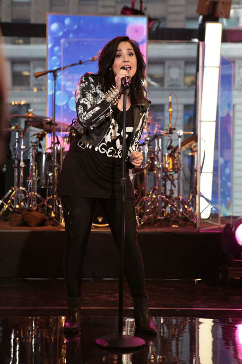 "<div class=""meta ""><span class=""caption-text "">Demi Lovato performs on 'Good Morning America,' on April 10, 2013. (ABC Photo/ Fred Lee)</span></div>"