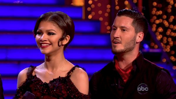 "<div class=""meta ""><span class=""caption-text "">'Shake It Up' actress Zendaya Coleman and her partner Val Chmerkovskiy received 29 out of 30 points from the judges for their Argentine Tango during week five of season 16 of 'Dancing With The Stars,' which aired on April 15, 2013. (ABC Photo / Adam Taylor)</span></div>"