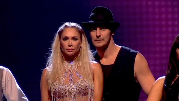 "<div class=""meta image-caption""><div class=""origin-logo origin-image ""><span></span></div><span class=""caption-text"">Actor Ingo Rademacher and his partner Kym Johnson await their fate on 'Dancing With The Stars: The Results Show' on April 16, 2013. The pair received 21 out of 30 points from the judges for their Cha Cha Cha on week 5 of 'Dancing With The Stars,' which aired on April 15, 2013. (ABC)</span></div>"
