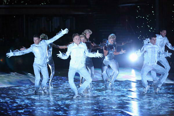 "<div class=""meta ""><span class=""caption-text "">'Dancing With The Stars: The Results Show' featured a futuristic opening number choreographed by pros Mark Ballas and Derek Hough on April 16, 2013. (ABC/Adam Taylor)</span></div>"