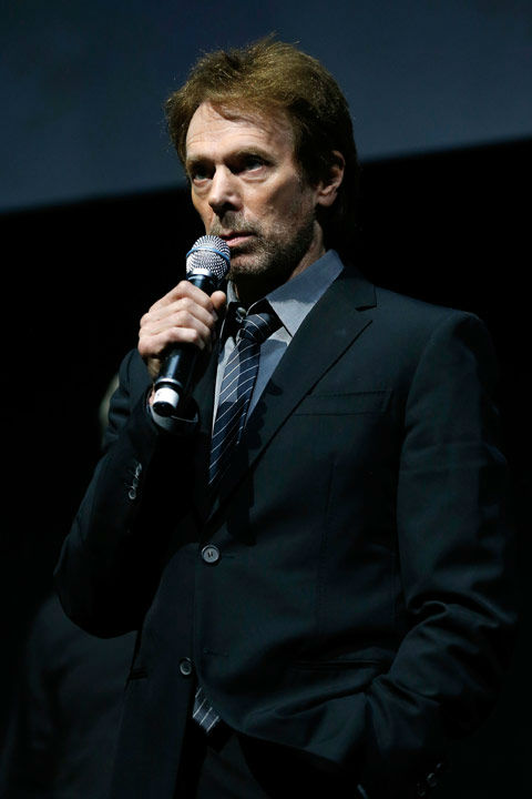 "<div class=""meta ""><span class=""caption-text "">Producer Jerry Bruckheimer speaks at The Walt Disney Studios Motion Pictures presentation to promote his upcoming film, 'The Lone Ranger' at Caesars Palace during CinemaCon, the official convention of the National Association of Theatre Owners on April 17, 2013 in Las Vegas, Nevada. (Photo/Isaac Brekken/Walt Disney Studios)</span></div>"