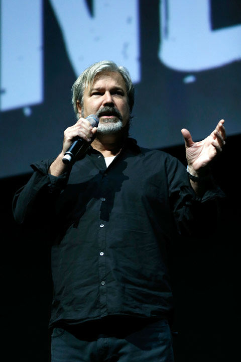 "<div class=""meta ""><span class=""caption-text "">Director Gore Verbinski speaks at The Walt Disney Studios Motion Pictures presentation to promote his upcoming film, 'The Lone Ranger' at Caesars Palace during CinemaCon, the official convention of the National Association of Theatre Owners on April 17, 2013 in Las Vegas, Nevada. (Photo/Isaac Brekken/Walt Disney Studios)</span></div>"