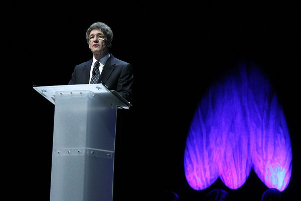"<div class=""meta image-caption""><div class=""origin-logo origin-image ""><span></span></div><span class=""caption-text"">Chairman of The Walt Disney Studios Alan Horn speaks at The Walt Disney Studios Motion Pictures presentation at Caesars Palace during CinemaCon, the official convention of the National Association of Theatre Owners on April 17, 2013 in Las Vegas, Nevada. (Photo/Isaac Brekken/Walt Disney Studios)</span></div>"
