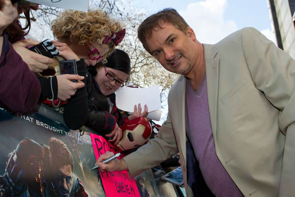 "<div class=""meta ""><span class=""caption-text "">Director Shane Black at the European tour of 'Marvel's Iron Man 3' - Special Screening on April 18, 2013 at Odeon Leicester Square, London, England. (JamesGillham/StingMedia)</span></div>"