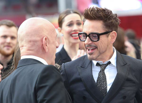 "<div class=""meta ""><span class=""caption-text "">Actor Robert Downey Jr. at the European tour of 'Marvel's Iron Man 3' - Special Screening on April 18, 2013 at Odeon Leicester Square, London, England. (JamesGillham/StingMedia)</span></div>"