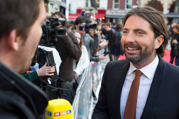 "<div class=""meta ""><span class=""caption-text "">Writer Drew Pearce at the European tour of 'Marvel's Iron Man 3' - Special Screening on April 18, 2013 at Odeon Leicester Square, London, England. (JamesGillham/StingMedia)</span></div>"
