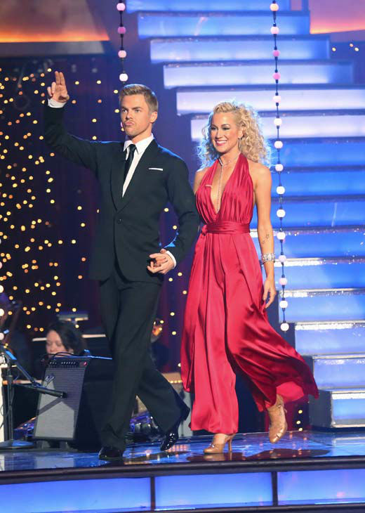 Kellie Pickler appears on &#39;Dancing With The Stars&#39; on April 22, 2013. <span class=meta>(ABC Photo&#47; Adam Taylor)</span>