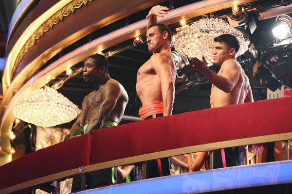 "<div class=""meta image-caption""><div class=""origin-logo origin-image ""><span></span></div><span class=""caption-text"">Zendaya, Ingo Rademacher, Victor Ortiz, Jacoby Jones and their partners perform a team Paso Doble dance on week six of 'Dancing With The Stars,' which aired on April 22, 2013. They received a score of 22 out of 30 from the judges. (ABC Photo/ Adam Taylor)</span></div>"