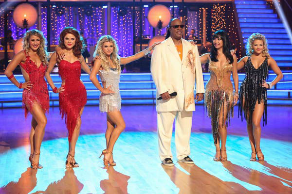 "<div class=""meta image-caption""><div class=""origin-logo origin-image ""><span></span></div><span class=""caption-text"">Stevie Wonder performs on week six of 'Dancing With The Stars,' which aired on April 22, 2013. Wonder sang his classic hits 'Sir Duke' and 'My Cherie Amour.' (ABC Photo/ Adam Taylor)</span></div>"