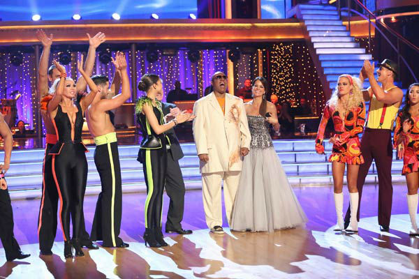 Stevie Wonder performs on week six of &#39;Dancing With The Stars,&#39; which aired on April 22, 2013. Wonder sang his classic hits &#39;Sir Duke&#39; and &#39;My Cherie Amour.&#39; <span class=meta>(ABC Photo&#47; Adam Taylor)</span>