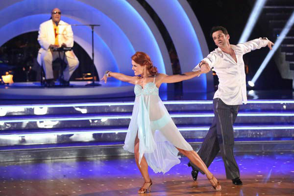 "<div class=""meta ""><span class=""caption-text "">Stevie Wonder performs on week six of 'Dancing With The Stars,' which aired on April 22, 2013. Wonder sang his classic hits 'Sir Duke' and 'My Cherie Amour.' (ABC Photo/ Adam Taylor)</span></div>"