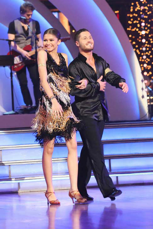 "<div class=""meta ""><span class=""caption-text "">Zendaya appears on 'Dancing With The Stars' on April 22, 2013. (ABC Photo/ Adam Taylor)</span></div>"