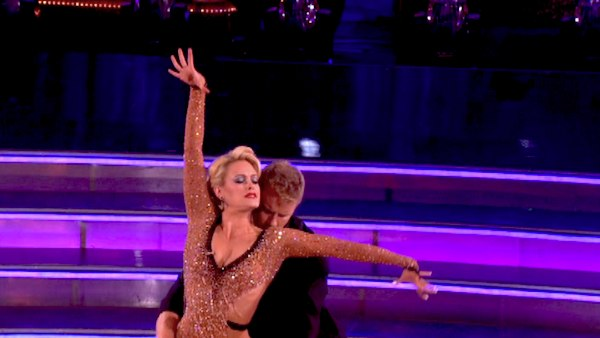 "<div class=""meta image-caption""><div class=""origin-logo origin-image ""><span></span></div><span class=""caption-text"">Sean Lowe, Ingo Rademacher and their partners compete in a Rumba dance-off to earn three extra points from the judges on week seven of 'Dancing With The Stars' on April 29, 2013. (ABC Photo / Adam Taylor)</span></div>"