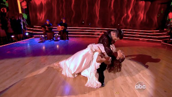 &#39;Shake It Up&#39; actress Zendaya and partner Val Chmerkovskiy dance the Paso Doble on week seven of &#39;Dancing With The Stars&#39; on April 29, 2013. They received 27 out of 30 points from the judges. <span class=meta>(ABC Photo&#47; Adam Taylor)</span>