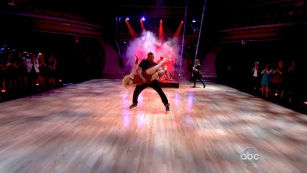 &#39;Macy&#39;s Stars of Dance&#39; troupe performs its fourth installment, which was choreographed by Allison Holker and Stephen &#39;tWitch&#39; Boss, on &#39;Dancing With The Stars: The Results Show&#39; on April 30, 2013. The dance is accompanied by violinist and YouTube sensation Lindsey Stirling.   <span class=meta>(ABC&#47;Adam Taylor)</span>