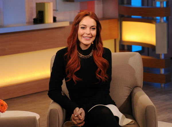 "<div class=""meta ""><span class=""caption-text "">Lindsay Lohan appears on an episode of 'Good Morning America' that aired on the ABC Television Network on Nov. 16, 2012. (ABC Photo / Donna Svennevik)</span></div>"