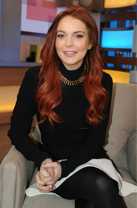 Lindsay Lohan appears on an episode of &#39;Good Morning America&#39; that aired on the ABC Television Network on Nov. 16, 2012. <span class=meta>(ABC Photo &#47; Donna Svennevik)</span>