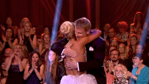 "<div class=""meta image-caption""><div class=""origin-logo origin-image ""><span></span></div><span class=""caption-text"">Former 'Bachelor' star Sean Lowe and his partner Peta Murgatroyd dance the Tango on week eight of 'Dancing With The Stars' on May 6, 2013. They received 21 out of 30 points. (ABC Photo / Adam Taylor)</span></div>"