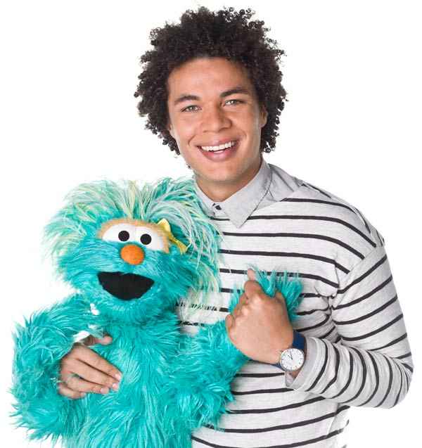 Ismael Cruz Cordova appears in a 2013 promotional photo for Sesame Street. - Provided courtesy of 2013. Sesame Workshop. All rights reserved.