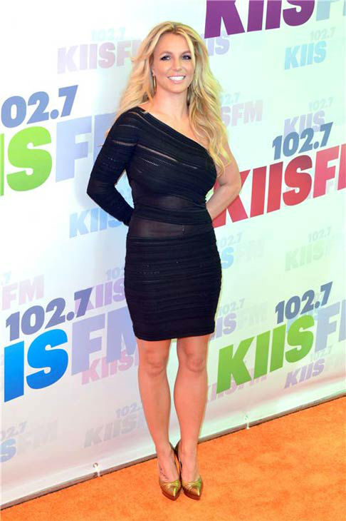 Britney Spears appears at 102.7 KIIS FM's Wango Tango concert in Los Angeles, California on May 11, 2013.