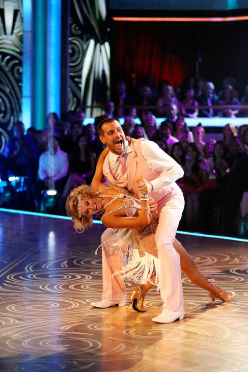Actor Ingo Rademacher and partner Kym Johnson dance the Charleston, chosen by Twitter fans, on week 9 of &#39;Dancing With The Stars&#39; on May 13, 2013. They received 27 out of 30 points from the judges. The two received 24 out of 30 for their first dance, the Samba, for a total of 51 out of 60. <span class=meta>(ABC Photo&#47; Adam Taylor)</span>