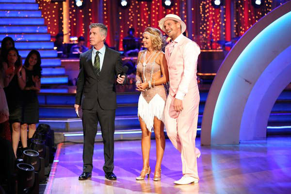 "<div class=""meta image-caption""><div class=""origin-logo origin-image ""><span></span></div><span class=""caption-text"">Actor Ingo Rademacher and partner Kym Johnson dance the Charleston, chosen by Twitter fans, on week 9 of 'Dancing With The Stars' on May 13, 2013. They received 27 out of 30 points from the judges. The two received 24 out of 30 for their first dance, the Samba, for a total of 51 out of 60. (ABC Photo/ Adam Taylor)</span></div>"