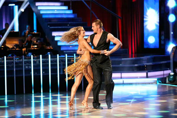 "<div class=""meta ""><span class=""caption-text "">Actor Ingo Rademacher and partner Kym Johnson dance the Samba on week 9 of 'Dancing With The Stars' on May 13, 2013. They received 24 out of 30 points from the judges. (ABC Photo/ Adam Taylor)</span></div>"
