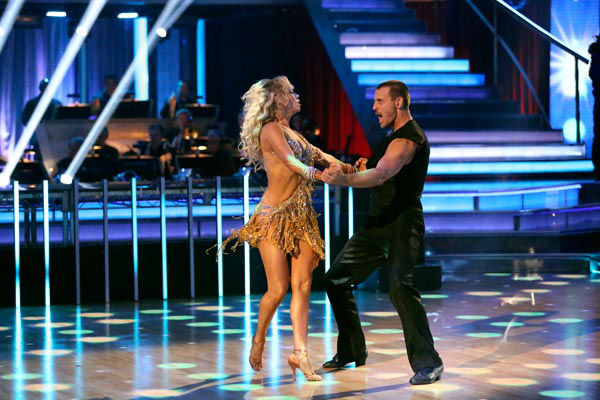 Actor Ingo Rademacher and partner Kym Johnson dance the Samba on week 9 of &#39;Dancing With The Stars&#39; on May 13, 2013. They received 24 out of 30 points from the judges. <span class=meta>(ABC Photo&#47; Adam Taylor)</span>