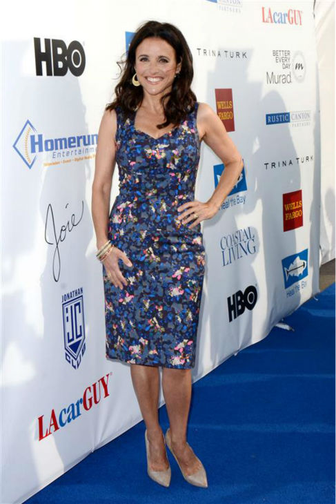 Julia Louis-Dreyfus appears at Heal The Bay&#39;s 2013 Bring Back The Beach gala in Santa Monica, California on May 16, 2013. <span class=meta>(Tony DiMaio &#47; Startraksphoto.com)</span>