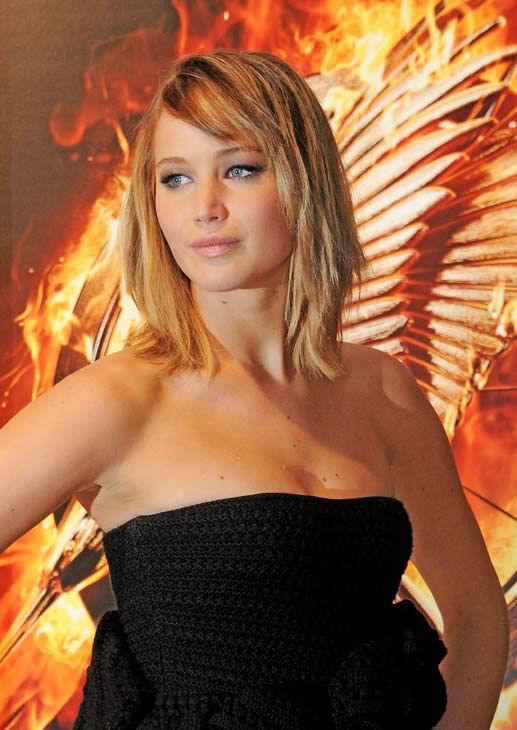 Jennifer Lawrence appears at &#39;The Hunger Games: Catching Fire&#39; photocall at the 2013 Cannes Film Festival at Majestic Barierre on May 18, 2013 in Cannes, France. <span class=meta>(Dave M. Benett &#47; Getty Images for Lionsgate)</span>
