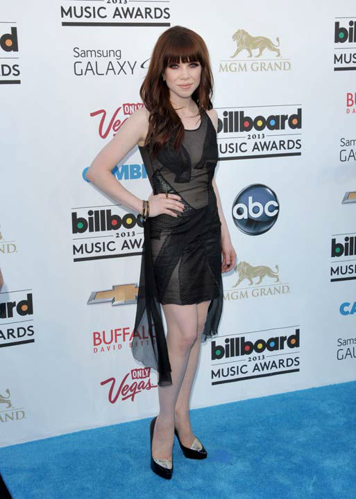 "<div class=""meta image-caption""><div class=""origin-logo origin-image ""><span></span></div><span class=""caption-text"">Carly Rae Jepsen arrives at the Billboard Music Awards at the MGM Grand Garden Arena on Sunday, May 19, 2013 in Las Vegas.  (Photo/John Shearer / AP)</span></div>"