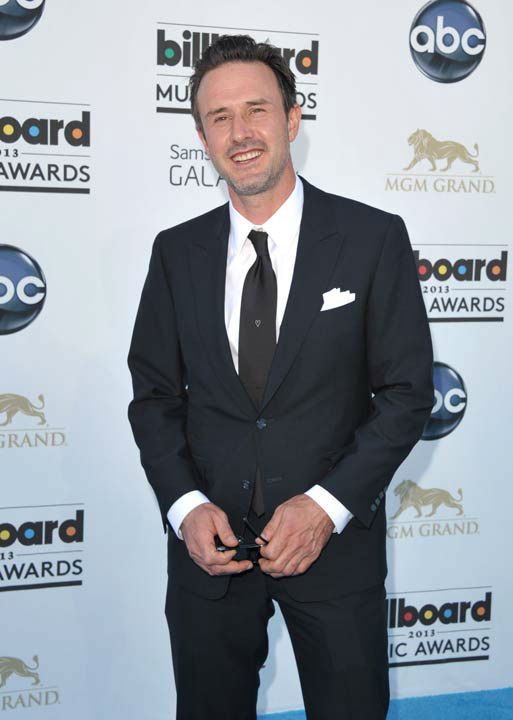 David Arquette arrives at the Billboard Music Awards at the MGM Grand Garden Arena on Sunday, May 19, 2013 in Las Vegas.