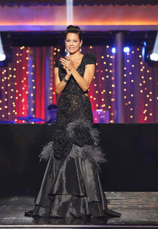 "<div class=""meta ""><span class=""caption-text "">Brooke Burke-Charvet appears on week 10 of 'Dancing With The Stars' on May 20, 2013. (ABC Photo/ Adam Taylor)</span></div>"