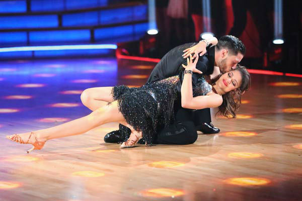 &#39;Shake It Up&#39; actress Zendaya and partner Val Chmerkovskiy dance the Cha Cha relay on week 10 of &#39;Dancing With The Stars&#39; on May 20, 2013. They came in first place and received 5 additional points from the judges. <span class=meta>(ABC Photo&#47; Adam Taylor)</span>