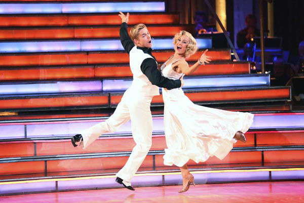 "<div class=""meta image-caption""><div class=""origin-logo origin-image ""><span></span></div><span class=""caption-text"">Kellie Pickler and partner Derek Hough received 30 out of 30 points from the judges for their Quickstep during week 10 of 'Dancing With The Stars,' which aired on May 20, 2013. (ABC Photo/ Adam Taylor)</span></div>"