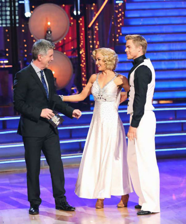 Kellie Pickler and partner Derek Hough received 30 out of 30 points from the judges for their Quickstep during week 10 of &#39;Dancing With The Stars,&#39; which aired on May 20, 2013. <span class=meta>(ABC Photo&#47; Adam Taylor)</span>
