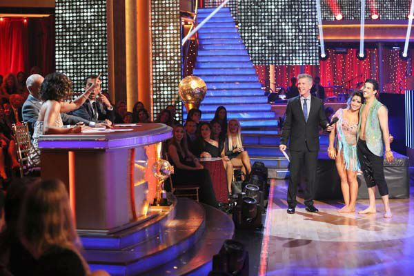 "<div class=""meta image-caption""><div class=""origin-logo origin-image ""><span></span></div><span class=""caption-text"">Olympic gymnast Aly Raisman and her partner Mark Ballas danced freestyle on week 10 of 'Dancing With The Stars' on May 20, 2013. They received 30 out of 30 points from the judges, making their night's cumulative score 61 out of 65 points. (ABC Photo/ Adam Taylor)</span></div>"
