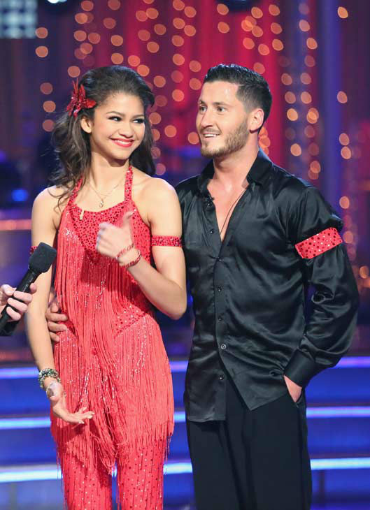 "<div class=""meta image-caption""><div class=""origin-logo origin-image ""><span></span></div><span class=""caption-text"">'Shake It Up' actress Zendaya and partner Val Chmerkovskiy danced the Samba on week 10 of 'Dancing With The Stars' on May 20, 2013. They received 30 out of 30 points from the judges. (ABC Photo/ Adam Taylor)</span></div>"