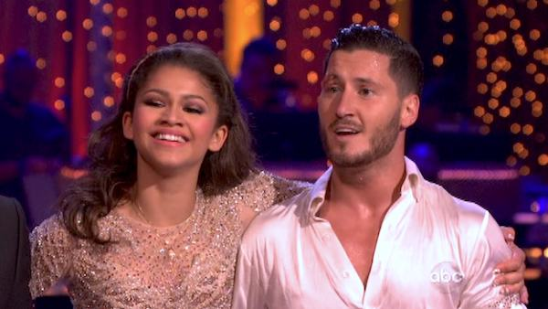 'Shake It Up' actress Zendaya and partner Val Chmerkovskiy danced freestyle on week 10 of 'Dancing With The Stars' on May 20, 2013. They received XX out of 30 points from the judges.