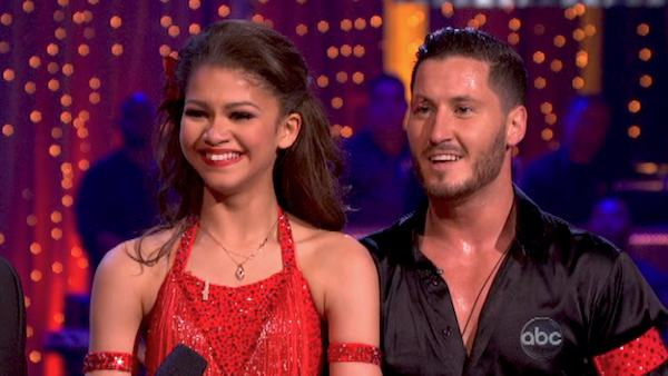 "<div class=""meta image-caption""><div class=""origin-logo origin-image ""><span></span></div><span class=""caption-text"">'Shake It Up' actress Zendaya and partner Val Chmerkovskiy danced the Samba on week 10 of 'Dancing With The Stars' on May 20, 2013. They received 30 out of 30 points from the judges. (ABC Photo / Adam Taylor)</span></div>"