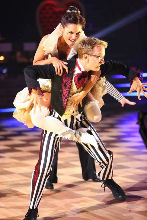 "<div class=""meta ""><span class=""caption-text "">Andy Dick performed again on the 'Dancing With The Stars' season 16 finale on May 21, 2013. (ABC Photo/ Adam Taylor)</span></div>"