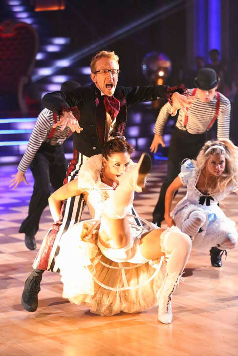 "<div class=""meta image-caption""><div class=""origin-logo origin-image ""><span></span></div><span class=""caption-text"">Andy Dick performed again on the 'Dancing With The Stars' season 16 finale on May 21, 2013. (ABC Photo/ Adam Taylor)</span></div>"
