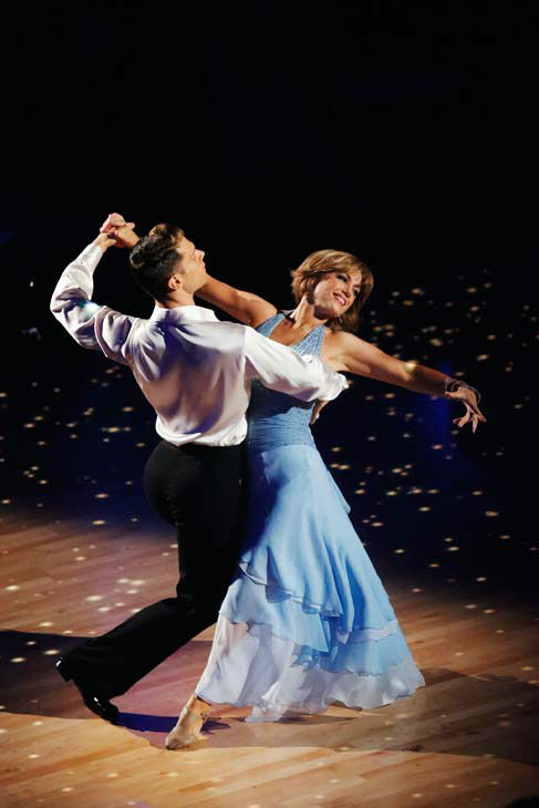 Former contestant Dorothy Hamill and Henry Byalikov perform on the &#39;Dancing With The Stars&#39; season 16 finale on May 21, 2013. <span class=meta>(ABC Photo&#47; Kelsey McNeal)</span>
