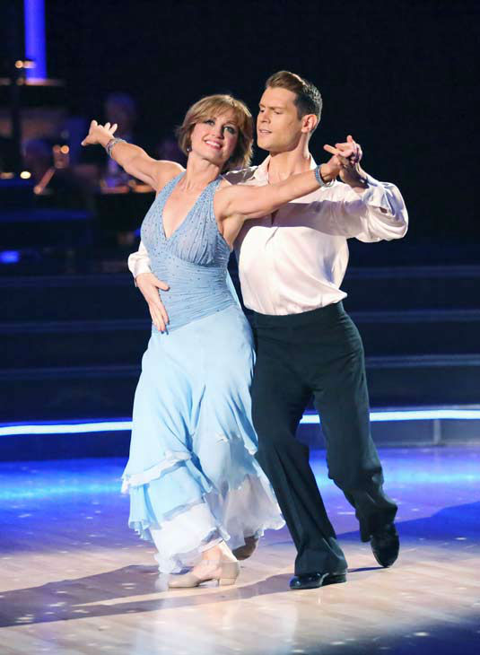 "<div class=""meta image-caption""><div class=""origin-logo origin-image ""><span></span></div><span class=""caption-text"">Former contestant Dorothy Hamill and Henry Byalikov perform on the 'Dancing With The Stars' season 16 finale on May 21, 2013. (ABC Photo/ Adam Taylor)</span></div>"