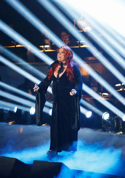 Singer and former contestant Wynonna Judd sings &#39;I Want To Know What Love Is&#39; on the &#39;Dancing With The Stars&#39; season 16 finale on May 21, 2013. Pro dancer Peta Murgatroyd and Judd&#39;s partner for the season, Tony Dovolani, accompanied her performance.  <span class=meta>(ABC Photo&#47; Kelsey McNeal)</span>
