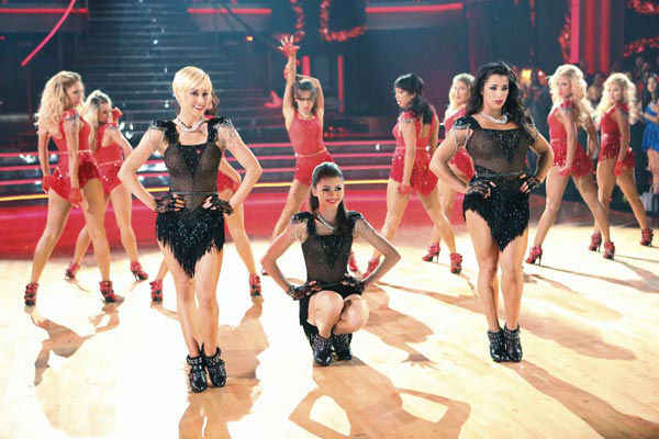 "<div class=""meta ""><span class=""caption-text "">Contestants Kellie Pickler, Zendaya and Alexandra Raisman perform on the 'Dancing With The Stars' season 16 finale on May 21, 2013. (ABC Photo/ Adam Taylor)</span></div>"