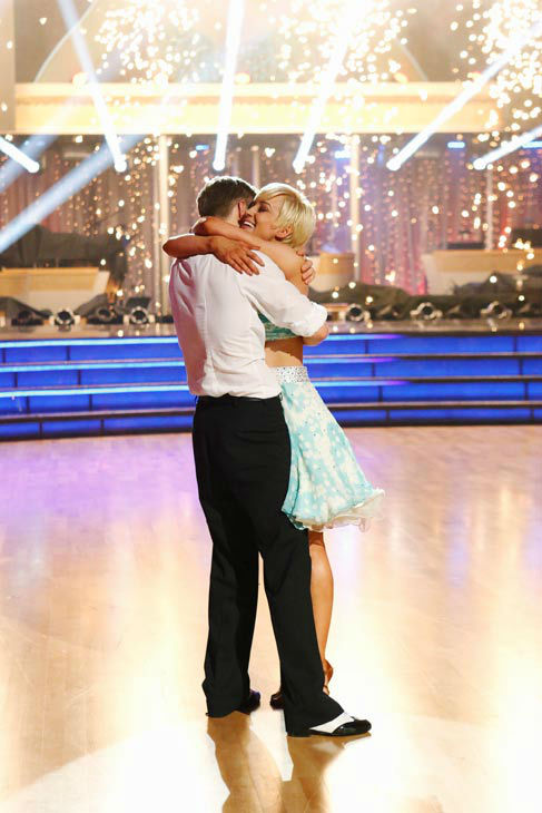 "<div class=""meta ""><span class=""caption-text "">Kellie Pickler, an 'American Idol' alum, and partner Derek Hough react after they are announced as the winners of 'Dancing With The Stars' on the ABC show's season 16 finale on May 21, 2013. The previous day, the pair received 30 out of 30 points from the judges for their Quickstep routine, 30 out of 30 points for their Freestyle and 4 extra points for their Cha Cha Cha, which brought their week's total to 64 out of 65. (ABC Photo/ Kelsey McNeal)</span></div>"