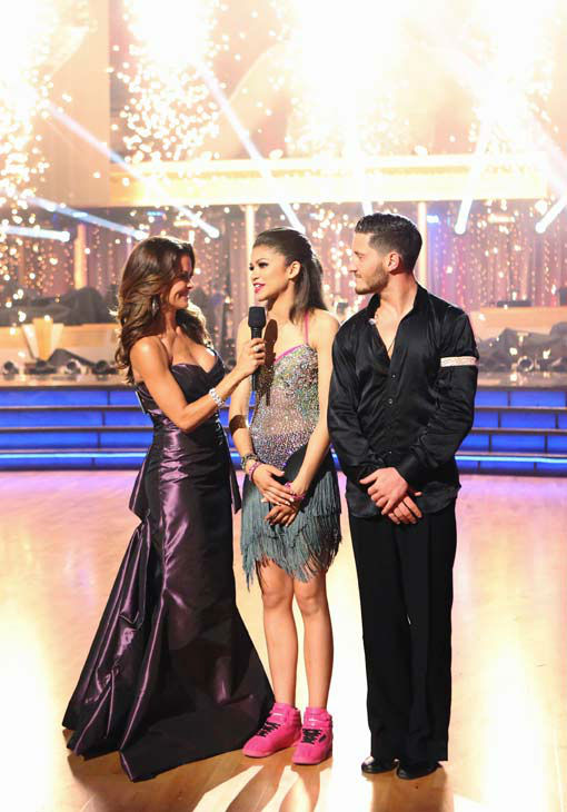 'Shake It Up!' actress Zendaya and partner Val Chmerkovskiy react to coming in second place on the 'Dancing With The Stars' season 16 finale on May 21, 2013. <br /><br />The previous day, the pair received 30 out of 30 points from the judges for their Sam